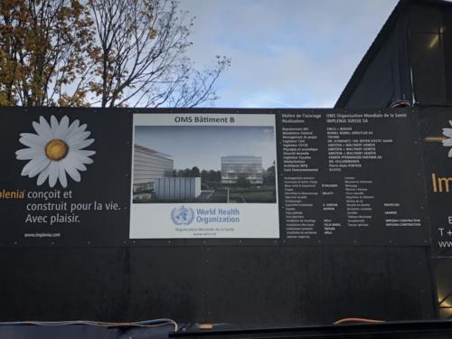 Extension de L'OMS à GENEVE